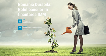 romania durabila - rolul bancilor mai 2016