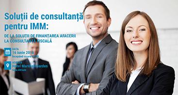 solutii de consultanta pentru imm 2016 - romania durabila