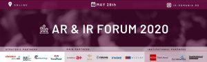 banner forum arir forum 2020 - romania durabila