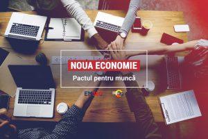 banner webinar pactul pentru munca - romania durabila
