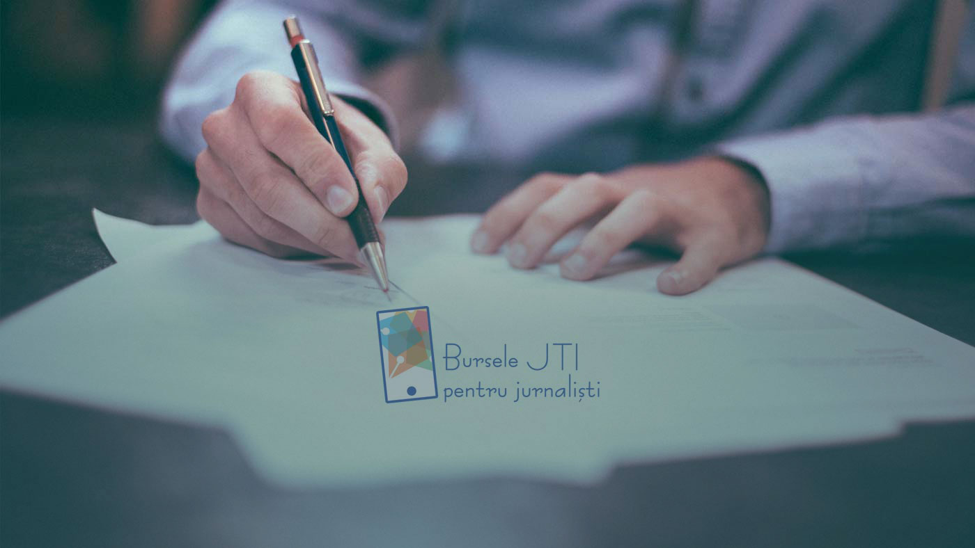 """Comunicat """"Bursele JTI pentru Jurnaliști"""" – Lansarea ediției 2020-2021"""