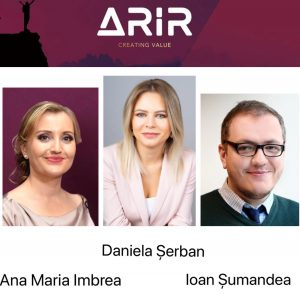 ARIR Daniela Serban Ana Maria Imbrea Ioan Sumandea - romania durabila