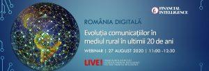 cover comunicat webinar romania digitala - romania durabila