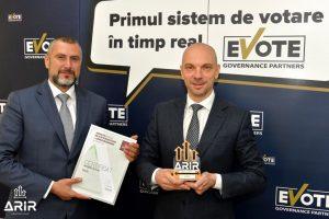 Bogdan Iliescu Partener Cofondator eVote Mihai Chisu CEO Cofondator eVote - romania durabila