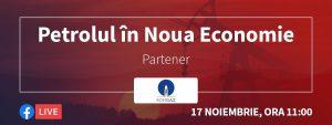 BANNER petrolul in noua economie powered by romgaz - romania durabila