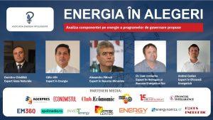 Banner post eveniment Energia in Alegeri - romania durabila