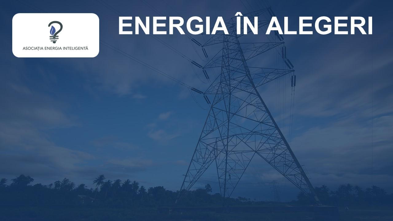 Comunicat de presă Energia în alegeri