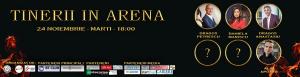 banner parteneriat tineri in arena - romania durabila