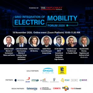 GRID INTEGRATION OF ELECTRIC MOBILITY FORUM 2020 - romania durabila