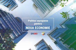 politici europene pentru noua economie banner - romania durabila