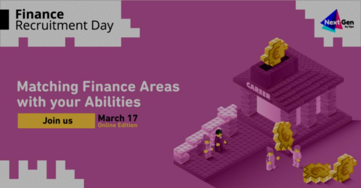 Au început înscrierile la Finance Recruitment Day Companii de top din domeniul financiar recrutează studenți și proaspăt absolvenți
