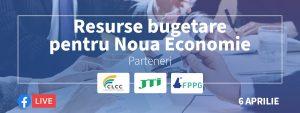 BANNER resurse bugetare pentru noua economie powered by omv petrom - romania durabila