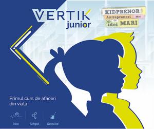 VERTIK Junior banner - romania durabila
