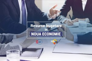 resurse bugetare in noua economie banner - romania durabila