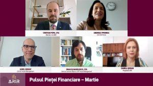 Speakers Pulsul Pietei Financiare martie - romania durabila